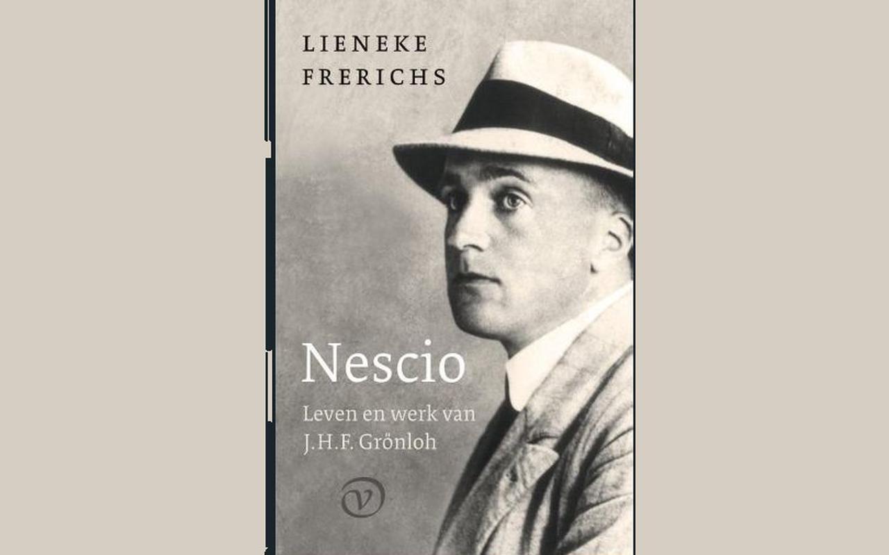 De omslag van de biografie van Nescio door Lieneke Frerichs.
