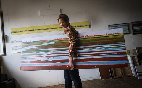 Sigrid van Essel: ,,Ik droom vaak over overstromingen.''
