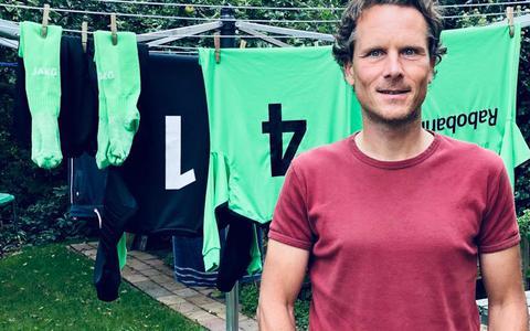 Waskemeer-voorzitter Johan Keuning.
