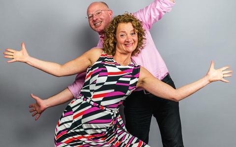 'Kunnen we het vijftig uur volhouden?' Eric en Jessica van de Burgt doen mee aan tv-programma De Dansmarathon