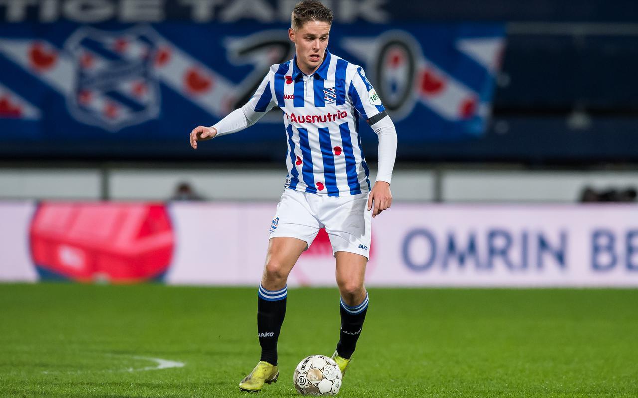 Joey Veerman: bezig aan zijn laatste wedstrijden bij SC Heerenveen?