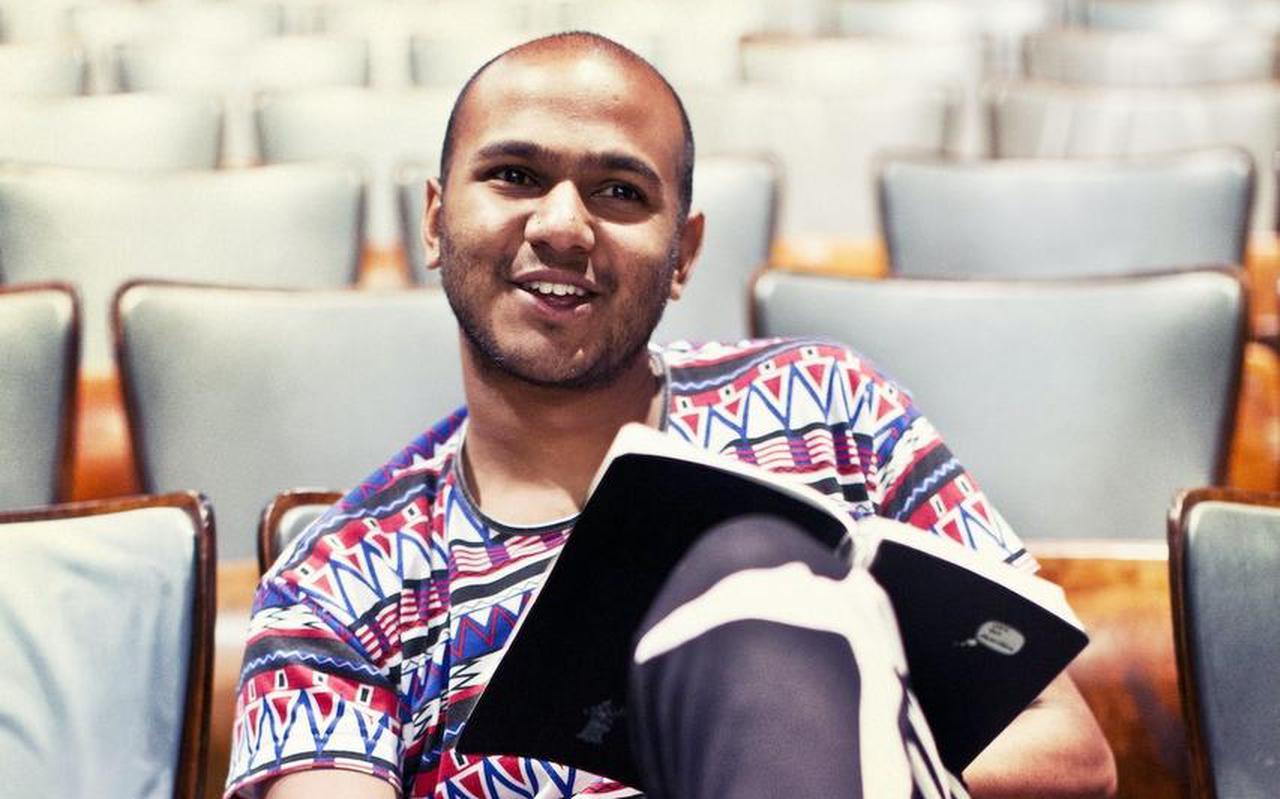 Ahilan Ratnamohan gaat in Leeuwarden op zoek naar een nieuwe taal.