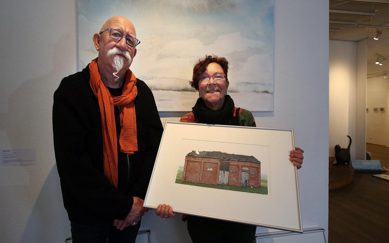Meint van der Velde en Wijke van der Bij vieren 45 jaar kunstenaarschap (en huwelijk) in de Roos van Tudor