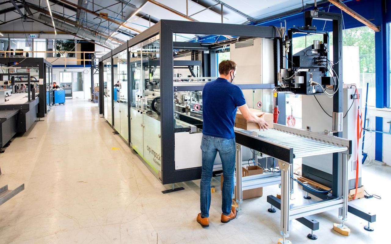 De hightech inpakmachines waar Sparck volledig op wil inzetten.