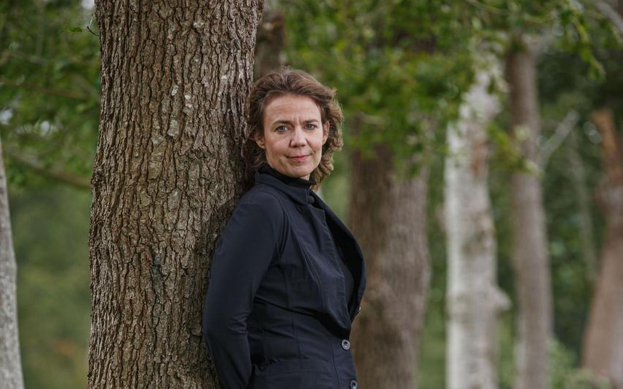 Annick Offringa laat zich omscholen tot leraar Nederlands.