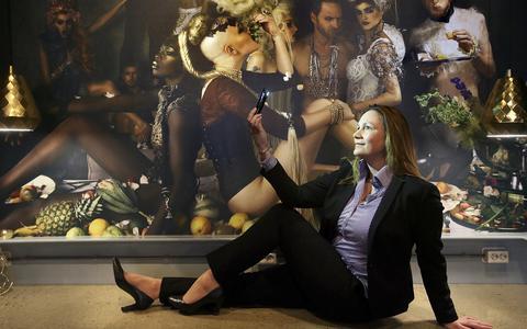 Uitzendbureau Templer heeft geen kantoren, eigenaar Josien Andringa regelt alles online en op haar smartphone. FOTO NIELS WESTRA