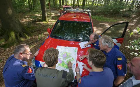 Natuurbranden de baas: brandweer en Staatsbosbeheer doen een schouw in het Drents-Friese Wold