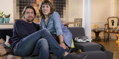 Mattie met zijn inmiddels ex-vriendin Kirsten.
