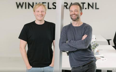 Online vinden de klanten winkels wel, zien deze twee ondernemers