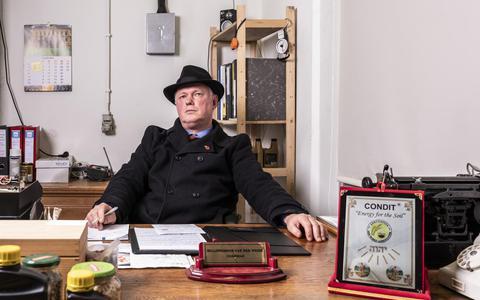 Uitvinder Willibrordus van der Weide hoopt met nieuwe vondst mestoverschot te kunnen oplossen