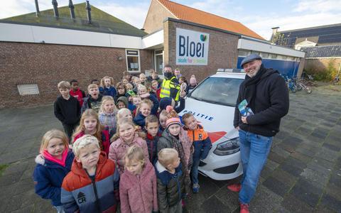 Anti-pestkarakter Anno N. even terug op basisschool Bloei