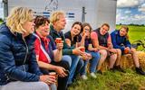 Na de actie bij Scharnegoutum gaat Hyke Anema van Agractie Fryslân niet naar Bilthoven: 'De boerderij heeft ons nodig'