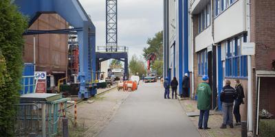 Scheepswerf Barkmeijer in Stroobos werd dinsdag failliet verklaard. FOTO MARCEL VAN KAMMEN