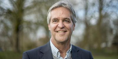 Omrop Fryslân-directeur Jan Koster. FOTO HOGE NOORDEN/JACOB VAN ESSEN