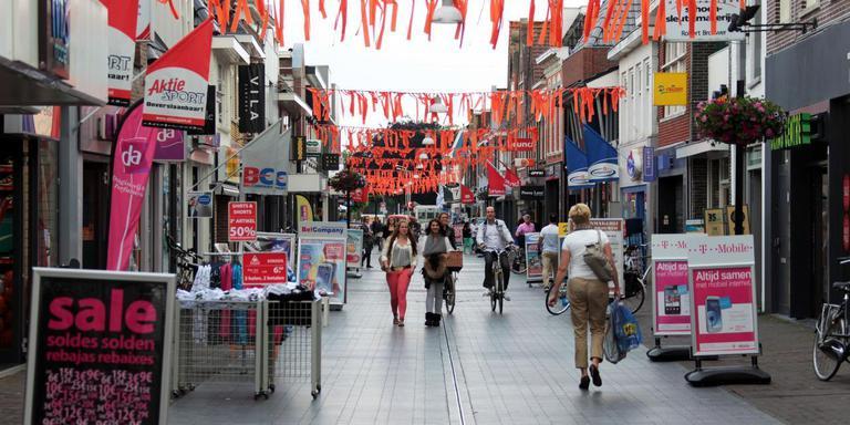 Het centrum van Heerenveen. FOTO ARCHIEF LC