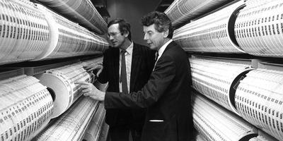Wim Kok (rechts). FOTO ARCHIEF
