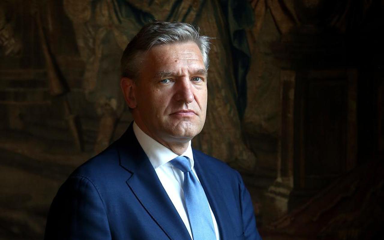 Sybrand Buma, burgemeester van Leeuwarden en voorzitter van de Veiligheidsregio Fryslân.