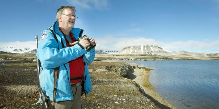 Onderzoeker Maarten Loonen. FOTO MARCEL VAN KAMMEN