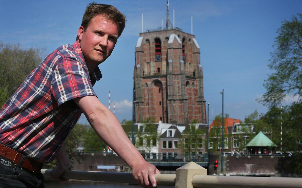 Sjoerd Nota ziet de komende twintig jaar geen grote nieuwe wegen in Friesland, wel langere in- en uitvoegstroken. FOTO NIELS WESTRA