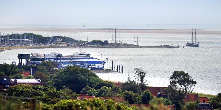 Haven van Vlieland. FOTO ARCHIEF LC