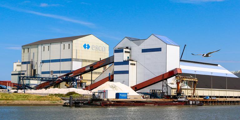 Frisia Zout, onderdeel van ESCO (European Salt Company). FOTO LC/ARODI BUITENWERF