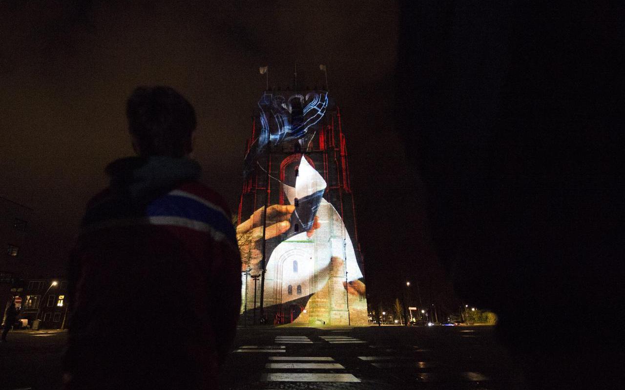 Een toren vol poezie.