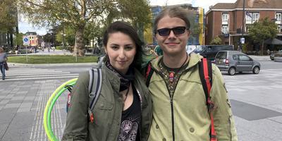 Monica en Alexandru Cristea. FOTO LC