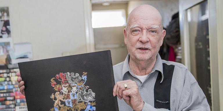 Frans Lauta van Aysma: ,,In mijn jeugd noemde ik mij ook jonkheer.'' FOTO ROB VOSS