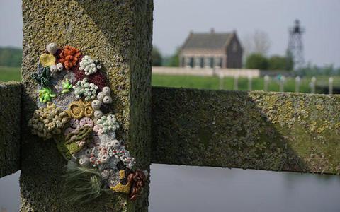 Kunstroute op Schokland brengt kunst en poëzie samen