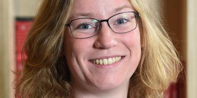 Evelyn Bosma onderzocht het effect van voorlezen in de Friese taal. EIGEN FOTO