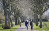 De zon wint het van besmettingsvrees: afgeladen parkeerplaatsen en extra toezicht bij natuurgebieden