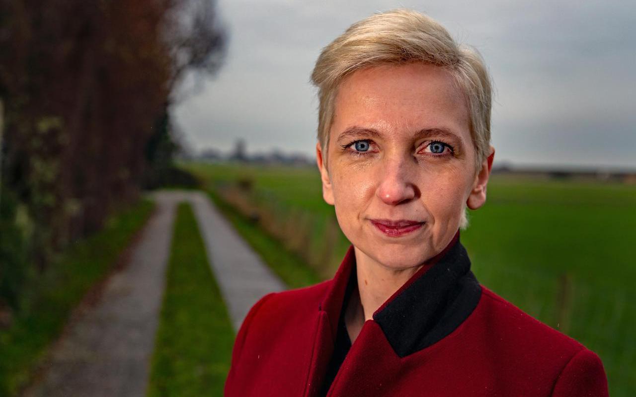 Marijke Roskam, de PvdA-lijsttrekker voor de statenverkiezingen. FOTO NIELS DE VRIES