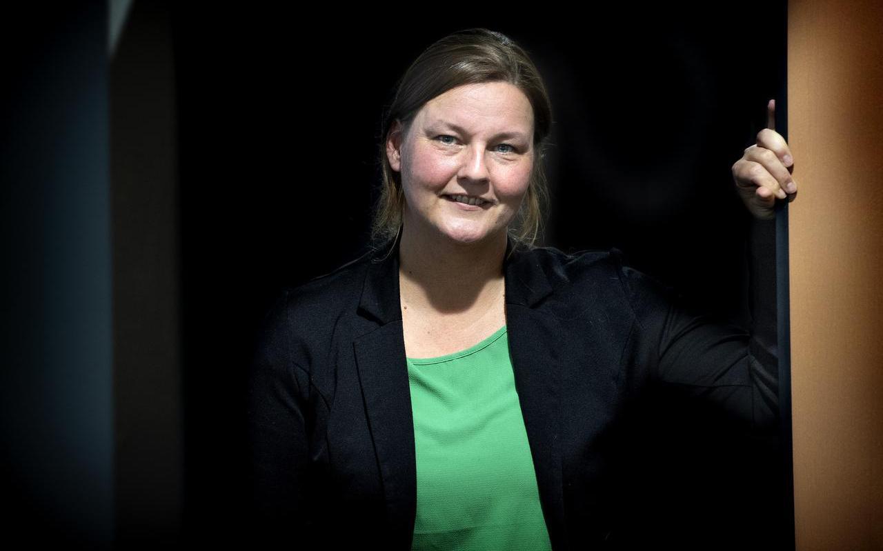 Diana Roggen, officier kindermishandeling Noord-Nederland.