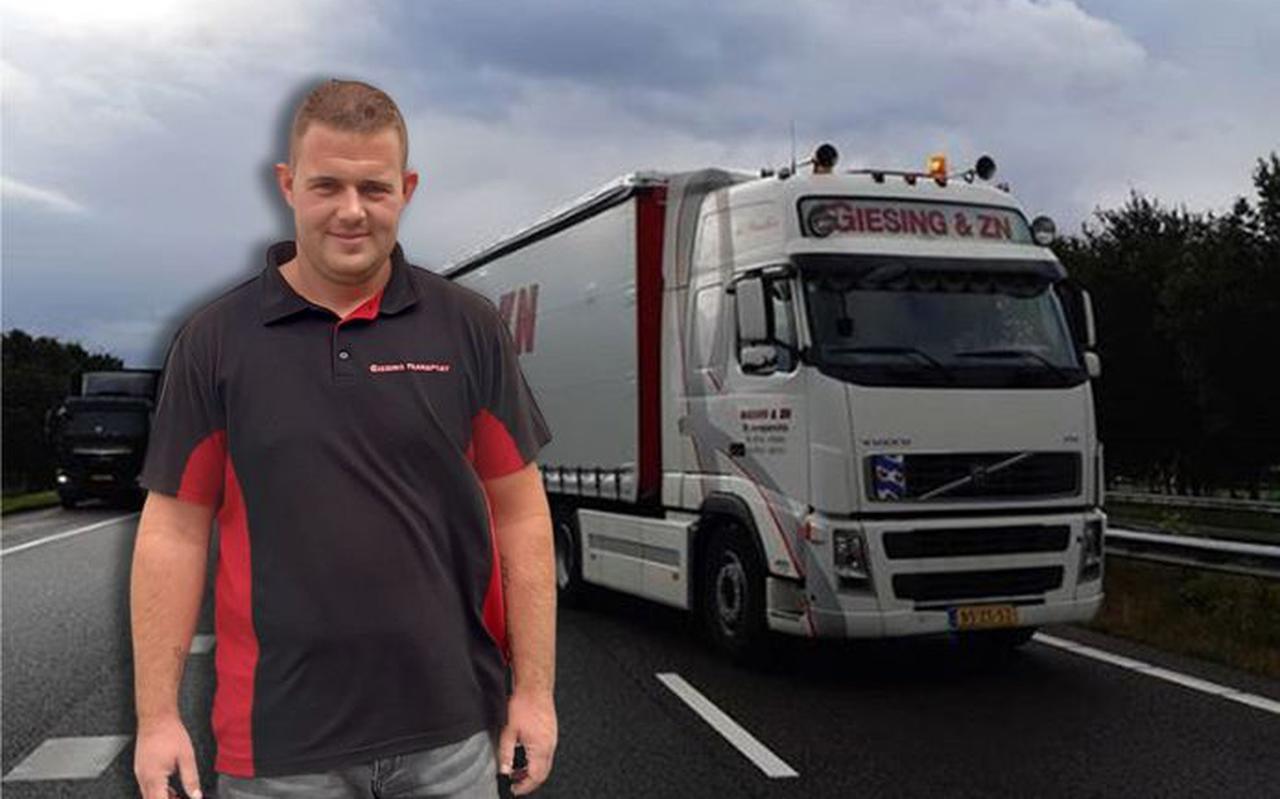 Jorrit Hansma (23) zette zijn vrachtwagen voor een ongeluk op de snelweg: 'Ik dacht: dit is de oplossing'