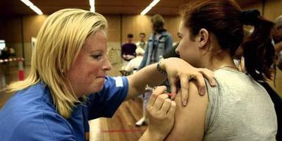 Inenten tegen meningokokken. FOTO ANP