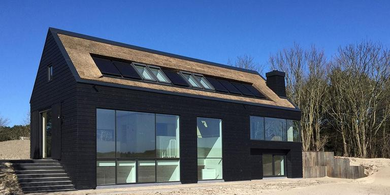 Duinhuis, Ameland. Studio Ina Matt, Pingjum. Projectarchitect: Matthijs van Cruijsen. Opdrachtgever: particulier. FOTO ARJAN BENNING