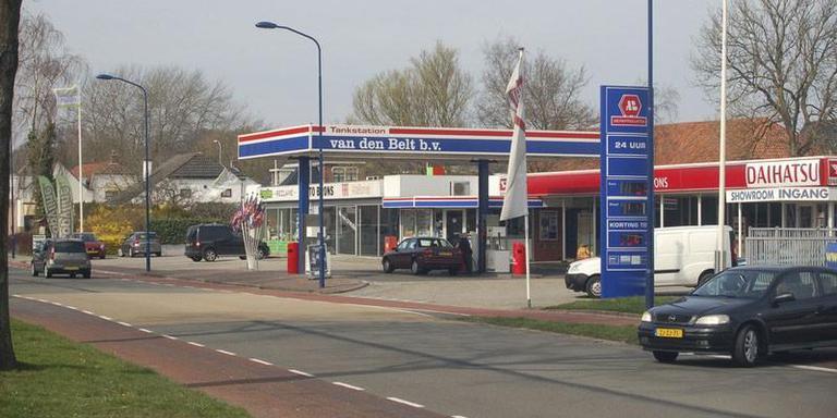 Een van de tankstations van Van den Belt in Drachten. EIGEN FOTO