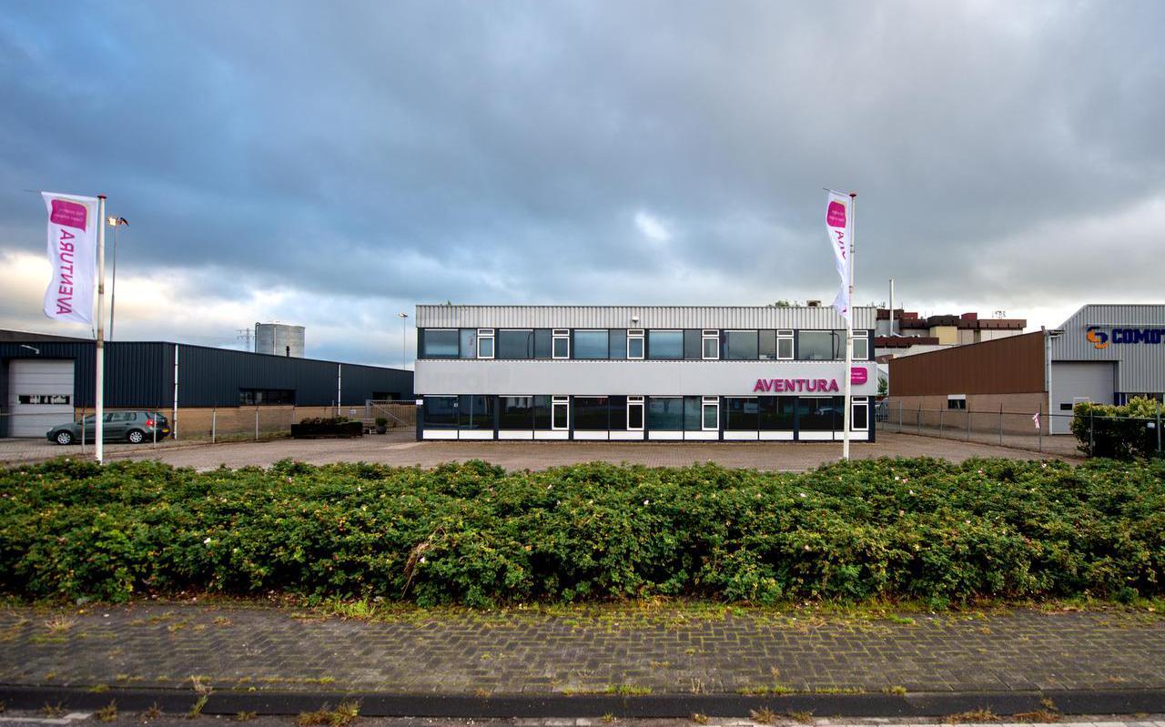 Het hoofdkantoor van Zorggroep Aventura in Drachten.