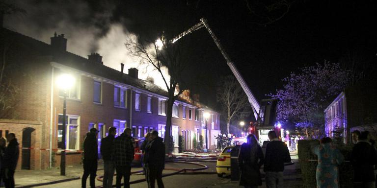 brand in huis sweelinckstraat door verwarde