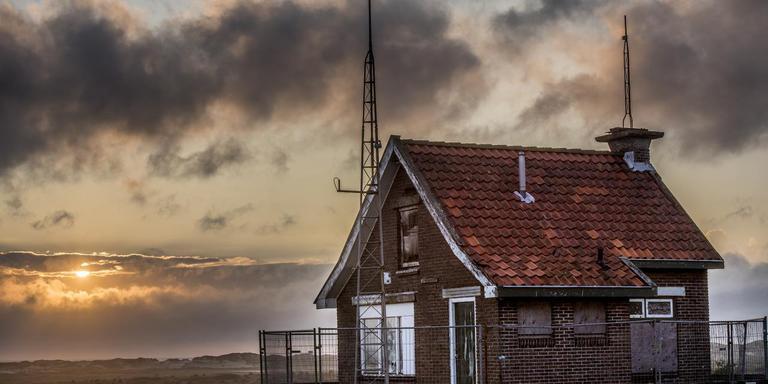 Straks kan het Seinhuisje op Kaapsduin op Terschelling als hotelkamer worden geboekt.
