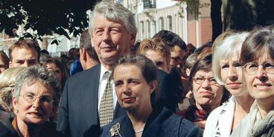 Wim Kok met echtgenote Rita.