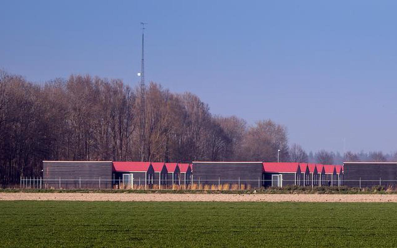 Het park voor arbeidsmigranten aan de Kuinderweg in Luttelgeest. FOTO NIELS DE VRIES