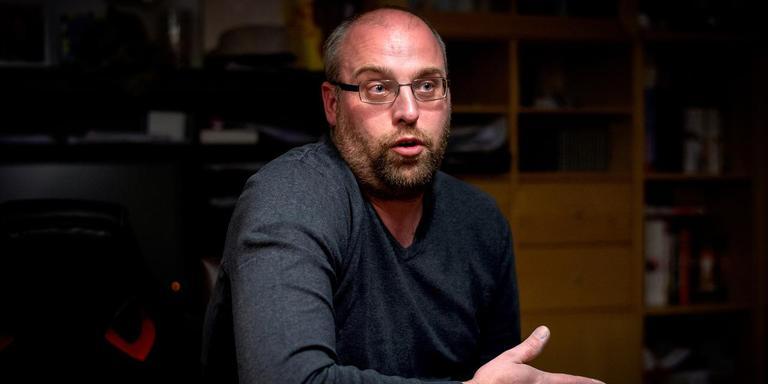 Antonio Corpier is woordvoerder van de woonwagenbewoners in Drachten die al twintig jaar om extra standplaatsen vragen. FOTO JILMER POSTMA