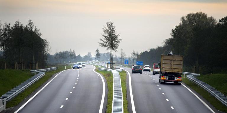 Door de aanleg van de Centrale As is Dokkum een stuk beter bereikbaar geworden. FOTO LC