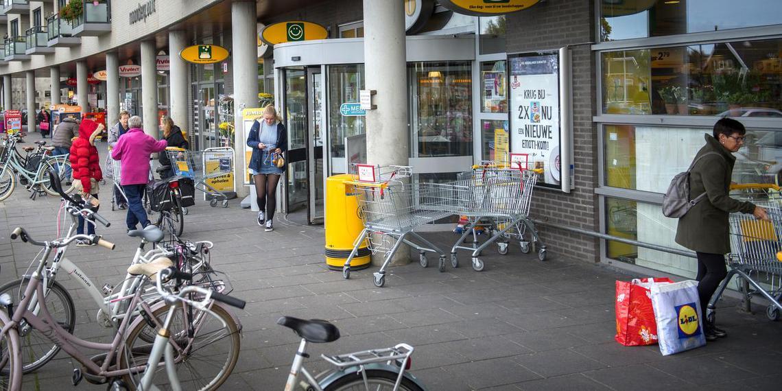 Winkelcentrum Noorderpoort in Drachten. Foto: Jilmer Postma