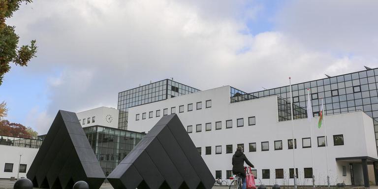 Gemeentehuis Drachten. FOTO LC