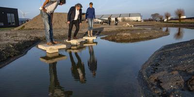 Bij de Morseweg wordt een uitgestrekte ecologische zone aangelegd. FOTO HOGE NOORDEN/JACOB VAN ESSEN