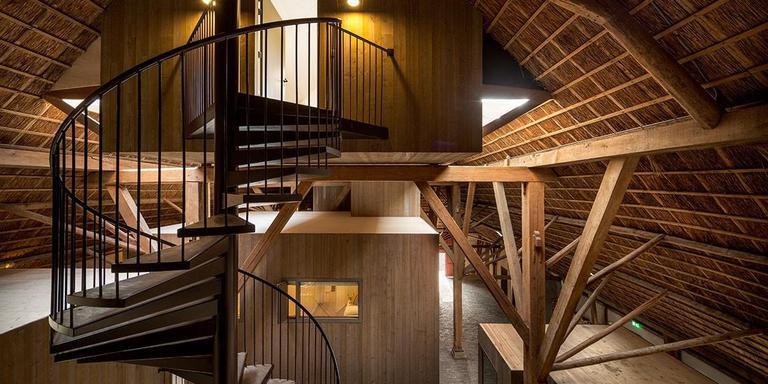 Attema-Sate, Gaastmeer. J.O.N.G. Architecten, Lemmer. Projectarchitect: Wytze Bouma. Opdrachtgevers: Margriet en Gerard Burgers. FOTO THIJS WOLZAK