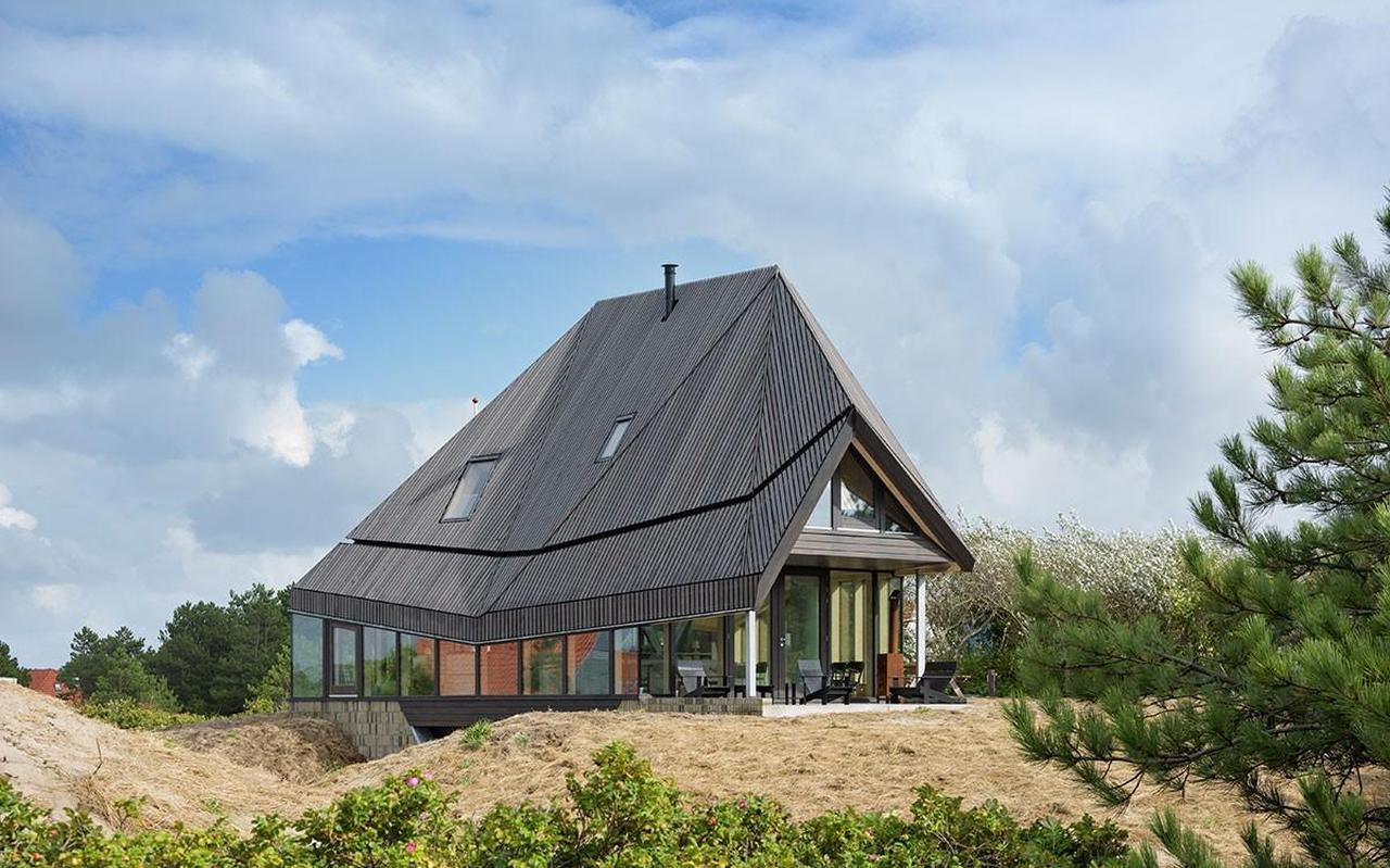 Vakantiehuis 't Kulkje op Vlieland. FOTO PIETER KERS