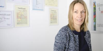 Freelance leerkracht Tineke de Jong staat inmiddels 95 procent van de tijd voor de klas.